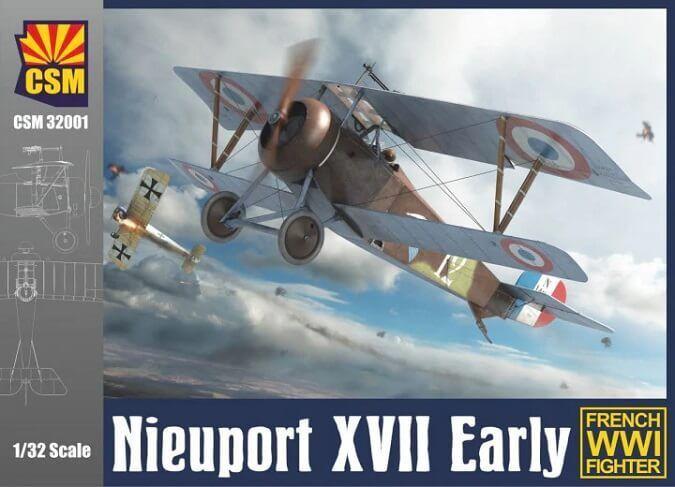 Copper State Models 1 32 Nieuport Xvii Early Maqueta de Plástico en Kit 32001