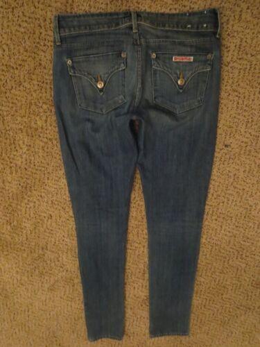 Hudson Vintage Sz Skinny Jeans Flap 25 Collin Denim Napoli Distressed r1xgrqIfPw