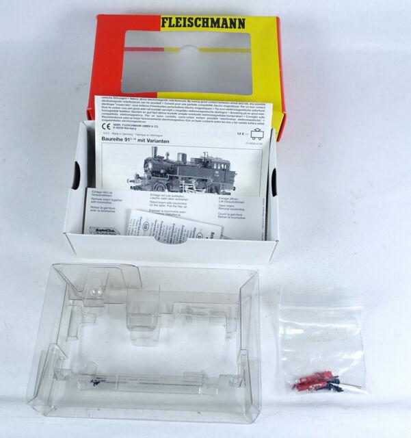 Fleischmann LEERKARTON 4032 Dampflok BR 91 1834 Leerverpackung OVP empty box H0