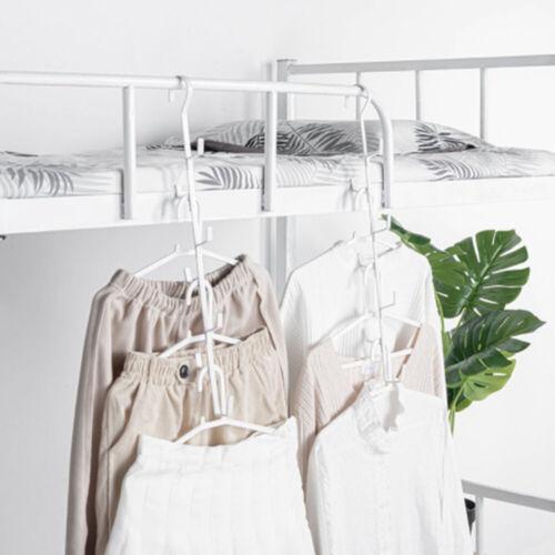 Wardrobe iron bag storage rack Tie hanger storage organization Hooks Rails