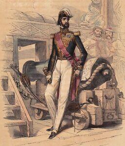 Portrait-XIXe-Francois-d-039-Orleans-Prince-de-Joinville-1845-Restauration