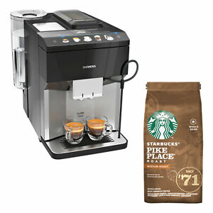 Siemens TP507DX4 Kaffeevollautomat Kaffeemaschine Milchschaum STARBUCKS Bundle