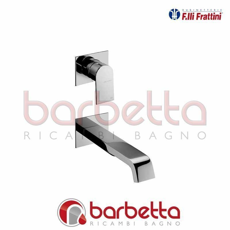 BATTERIA LAVABO A PARETE VERTICALE SENZA SCARICO TOLOMEO FRATTINI 83035A