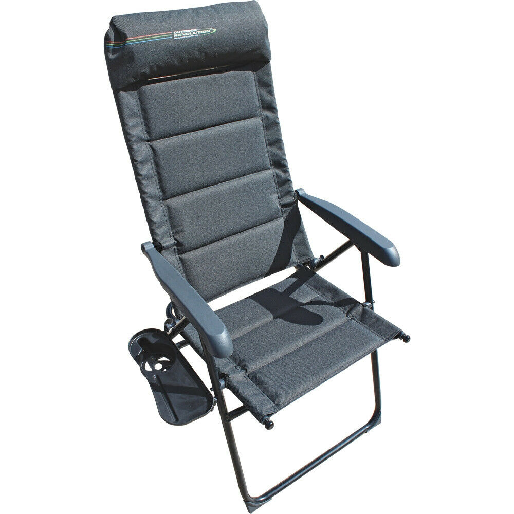 Outdoor Revolution Vicenza Lux Padded Fold-Away Steel Chair