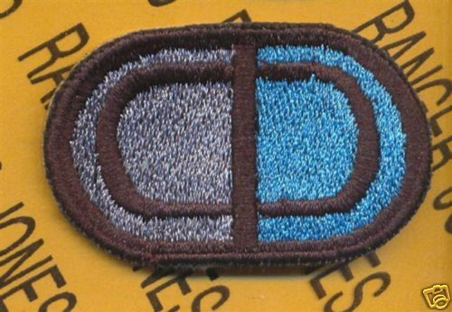 CLT Combined Liaision Team 524 MI Airborne oval patch