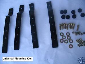 Universal Motorcycle Hard Saddle Bag Mounting Bracket Kit