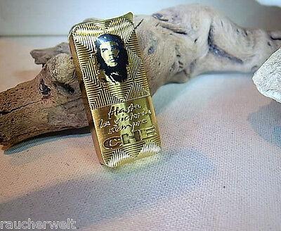 Edles Gas Feuerzeug Optik @ Aktionspreis Im Gold Design @ Marken -qualität