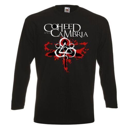 COHEED AND CAMBRIA LOGO Long Sleeve T-shirt Rock Band Shirt Long Sleeve Tee
