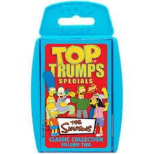 THE SIMPSONS CLASSIC COLLECTION VOLUME TWO 2 TOP TRUMPS SPECIALS NEW AND SEALED