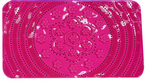 BT102  Non-Slip Bathroom//Shower Mat with Suction Cups,15x26 Inches