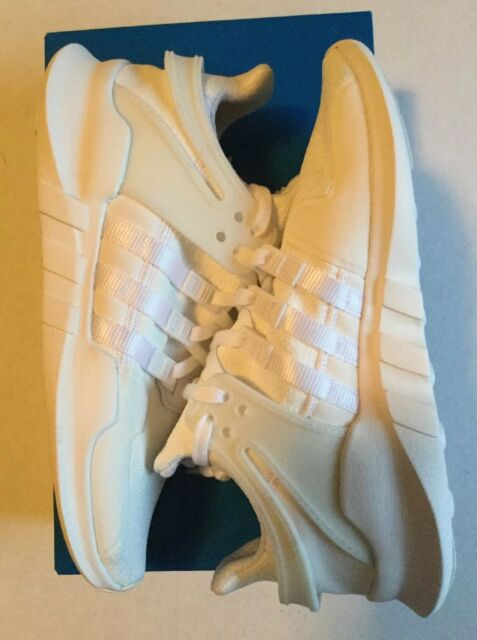 05cd8f6cce6f adidas EQT Support Advance J Youth Boys Girls Triple White CP9783 Kids 5.5 7
