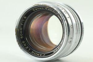 EXC-5-Canon-50mm-f-1-8-MF-Objektiv-LTM-l39-Leica-Screw-Mount-aus-Japan-172