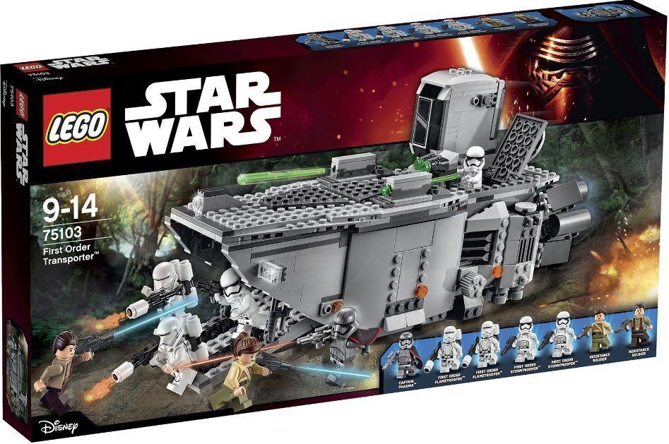 LEGO STAR WARS première commande transporteur avec Phasma (75103) - NEUF boîte scellée-retraite