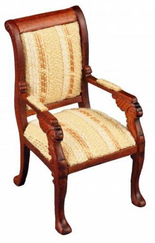 Reutter porcelana Empire silla con reposabrazos Chair Classic muñecas Tube 1:12