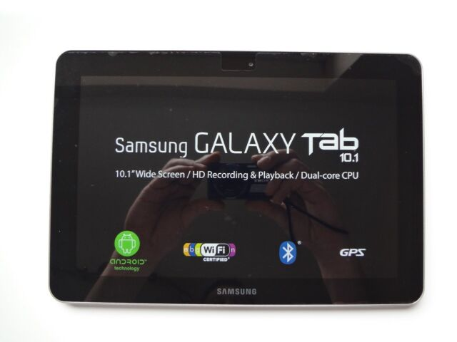 Samsung Galaxy Tab GT-P7500/M16 16GB, Wi-Fi + 3G (Unlocked), 10.1in - Pure White