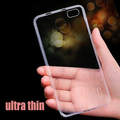 Ultra Thin Clear Crystal Soft TPU Silicone Case Cover Skin for Huawei Phones