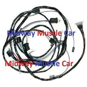 1967 chevy impala wiring harness diagram 62 chevy impala wiring harness front end headlight headlamp wiring harness 61 62 chevy ...