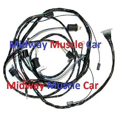 front end headlight headlamp wiring harness 61 62 Chevy Impala Biscayne  belair | eBayeBay