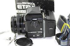 Zenza Bronica ETRSi Classic film macchina fotografica con Zenzanon-PE 1:2 .8 F = 75mm lente.