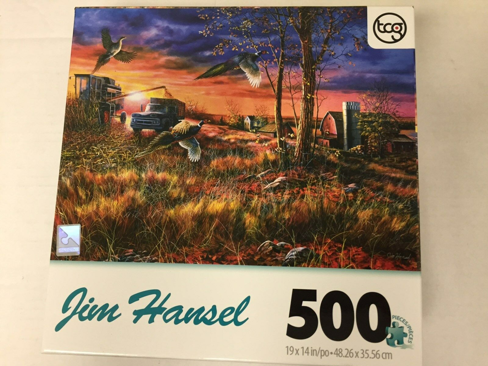 Jim Hansel HeadwatersJigsaw Puzzle 500-Piece