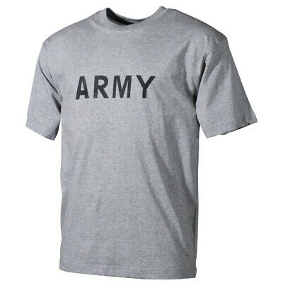 Us Army T-shirts In Grau Ranger Promote The Production Of Body Fluid And Saliva us Army
