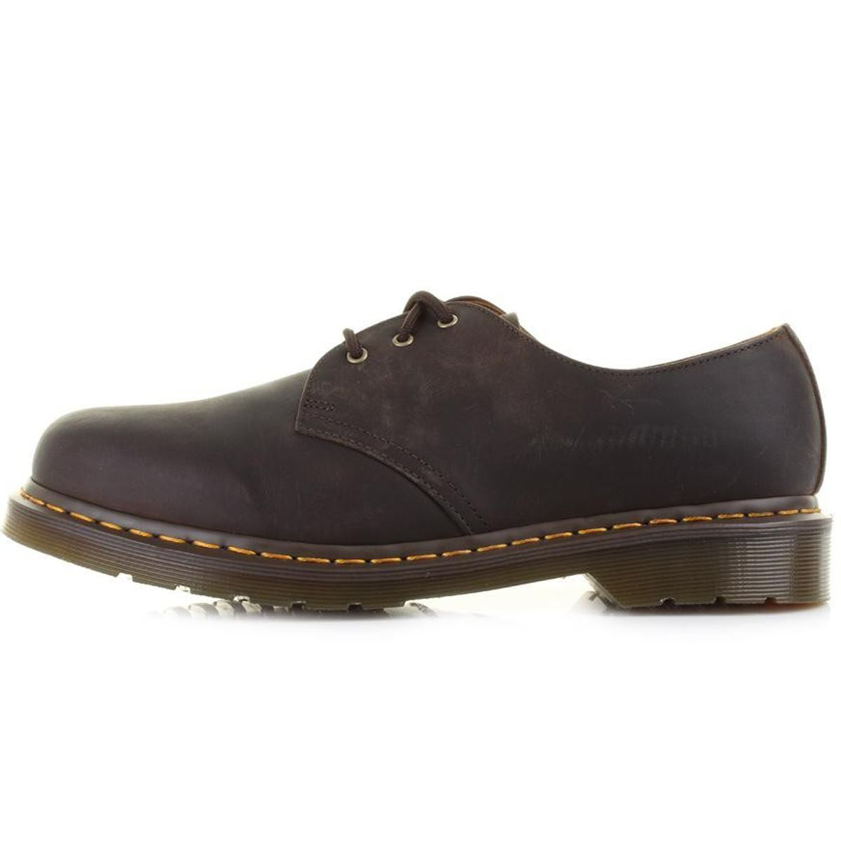 Men Dr. Martens 1461 Low Top 3 Eye 11838201 Gaucho Crazy Horse 100%Authentic New