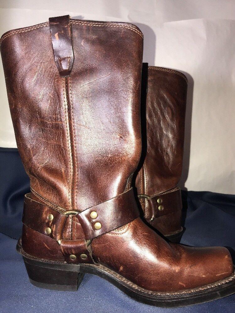 Wms DURANGO HARNESS BOOT RD514 Brown Size 8.5M 8.5M 8.5M Square Steel Toe Neoprene Sz 8.5M d1c1e4