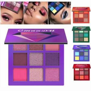 Cosmetic-Matte-Eyeshadow-Cream-Makeup-Palette-Shimmer-Set-9-Colors-Eyeshadow