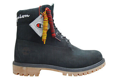 Mens Timberland Premium 6 in Waterproof Boots X Champion Collab 0A1UCR | eBay