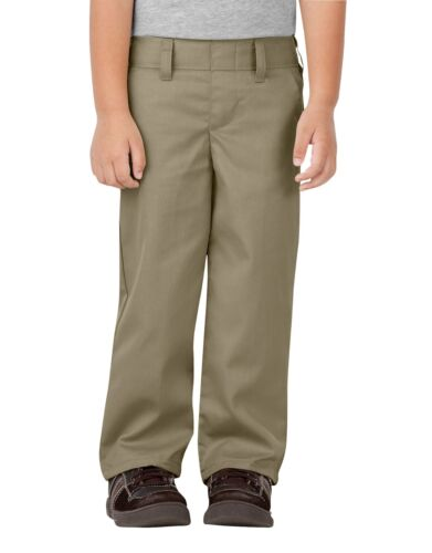 Dickies Toddler Khaki Pants Pull On Flat Front School Uniforms  Sizes 2T to 4T