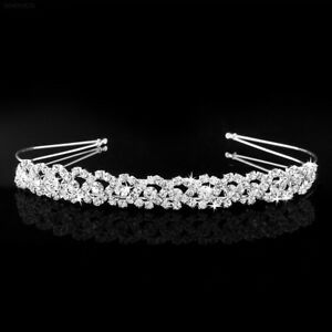 Bridal-Bridesmaid-Diamante-Crystal-Rhinestone-Headband-Wedding-Prom-Hairband