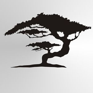 Painting A Tree Silhouette On Wall