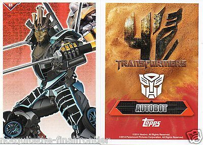 Autobots Cards Topps Transformers Trading Card
