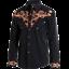 Harvey Stars /& Streifen Angebot Hemden Country Western Ref