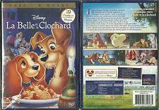 DVD - WALT DISNEY : LA BELLE ET LE CLOCHARD / NEUF EMBALLE - NEW & SEALED