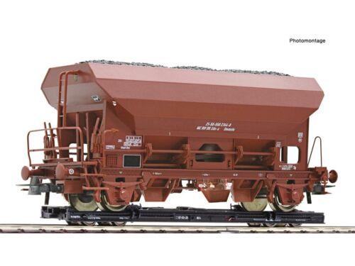 Roco 34574 Güterwagen Rollwagen mit Selbstentladewagen DR H0e