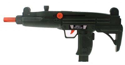 Kids Pull Back Machine Gun Soldier Role Playing Shooting Gun For Boys Army Gun Ebay