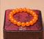 "8//10mm Orange Jade Perles Élastique Bracelet Bangle AAA 6-8.5/"""