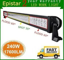 42inch 240W Led Work Combo Flood Spot Light Bar Boat Driving ATV 4WD Ford 44/40""