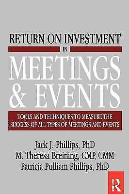 1 of 1 - Return on Investment in Meetings and Events-ExLibrary
