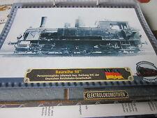 Lokarchiv Dampfloks 520 BR 98.77 DRG Gattung DX Bayerische Staatsbahn 1890