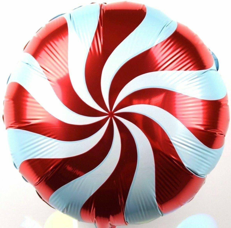 3x R10F9 Zucker Helium Folienballons Hochzeit Feier Deko Rot Bonbon Geschenk NEU