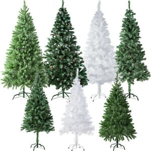 k nstlicher weihnachtsbaum tannenbaum kunst tanne baum kunsttanne christbaum ebay. Black Bedroom Furniture Sets. Home Design Ideas