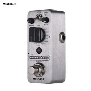 MOOER-Groove-Loop-Drum-Machine-amp-Looper-Pedal-3-Modes-Recording-Tap-Tempo-K2C9