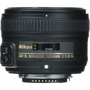 Clearance-Deal-50mm-1-8-Nikon-Nikkor-50-mm-F-1-8G-Fx-G-Swm-Af-s-Sic-M-a-Lens