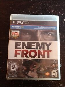 Enemy-Front-PS3-New-PlayStation-3-Walmart-Edition-FREE-DLC-Character-and-Weapon