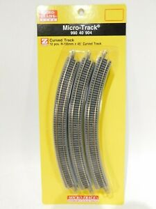 NEW-Micro-Trains-Z-Scale-Curved-Track-990-40-904-TOT1ES