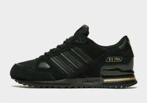 ADIDAS-ZX-750-HD-034-Black-Gold-034-Uomo-Scarpe-da-ginnastica-Tutte-le-Dimensioni-stock-limitata