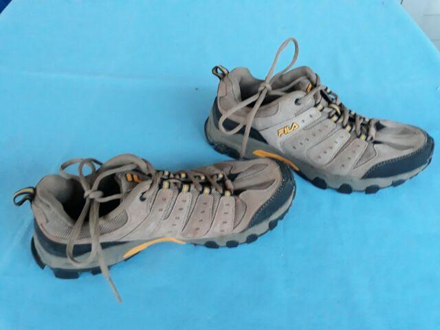 Men's FILA Travail Hiking Shoe Brown