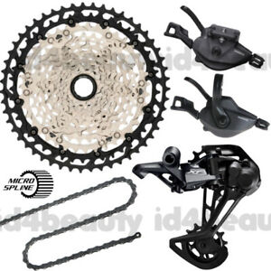 Shimano XT M8100 1x12 Speed 4pcs Groupset New